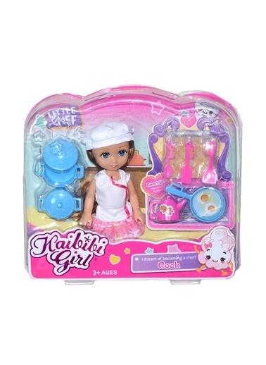 Birlik Oyuncak Birlik Oyuncakbld230 Elbiseli Küçük Aşçı Bebek Oyuncağı Renkli
